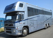 2004 Volvo FM12 Coach built by Empire. 26 Ton. Stalled for 6, sleeping for 5, full luxury living with large slide out.. STUNNING TRUCK