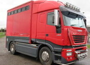 2003 Iveco Stralis Tractor unit with Demount able Emesley Metcalfe transport body.. Stalled for 4.. Unique truck