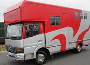 2005 Mercedes Benz Atego Coach built by Tristar. Stalled for 3 with smart living.. VERY SMART