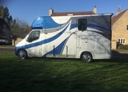 Ascot 2, 3.5 Ton, Renault Master 18,000 miles, 64 Reg, £28,950 + VAT , Separate day living . Sleeps 2, Sat Nav Electric Pack