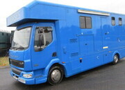 2003 Daf LF 150, Equitimo by Huish Engineering, Mounted Integrally , Stalled for 3 , Luxury Living. 2003 Daf LF 150, Equitimo by Huish Engineering, Mounted Integrally , Stalled for 3 , Luxury Living.