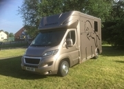 ASCOT 2 ,  3.5Ton , Peugeot Boxer 18 Reg,£ 32,950. Electric Pack, Sat Nav and Air con, Bluetooth, Long stalled adjustable padded partition, Weekender Body, Sleeps 2