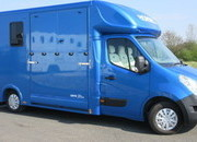 2017 Renault Master. Brand New Empire Mini. Stalled for 2 rear facing.. STUNNING HORSEBOX