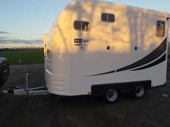 Equi-Trek Space Treka L Excel Trailer Brand New in Stock with FREE Deliver within 50 Miles