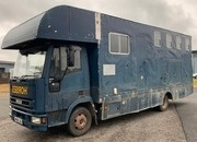 Iveco Eurocargo 75E15 Coach built by Wren. Stalled with 3 with living Feb 2021 MOT