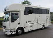 2008 Renault Midlam 7.5 Ton Coach built by LM Coach builders. Stalled for 3 with smart living, Sleeping for 4. Underfloor storage.. Mot June 2022
