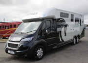 2019 Peugeot Boxer 5 ton Equi-trek Valiant Excel. Huge specification.. Stalled for 2 rear facing.. Only 367 Miles... LIKE NEW