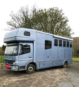 Mercedes Atego 7.5.Ton Horse Lorry