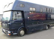 2006 MAN TG Coach built by P.M Horseboxes. Stalled for 3 with full luxury living.. Large external