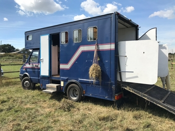 6.5t Horsebox. Ford iveco 'P' Easy to drive with excellent load capacity.
