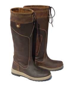 Rhinegold - Elite Vermont Leather Country Boots - Wide