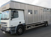 18 Ton 2003 DAF CF 75 Aluminium Tristar. Stalled for 5 with huge living area.. Full tilt cab.. VERY SMART