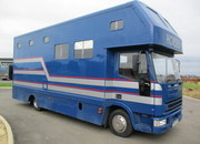 Iveco Eurocargo 75E15 Coach built horsebox. Stalled for 3 with smart spacious living... VERY SMART