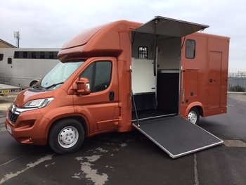 gdr horseboxes 4.5 ton eventer