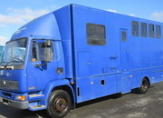 DAF 55 160 Professional conversion by George Smith horseboxes. 13 Ton, Stalled for 4 with smart living.. Mot March 2021