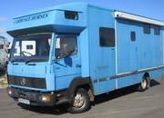 Mercedes Benz 814 Coach built Horsebox. Equline build. Stalled for 3 with smart living.. Detachable stabling.
