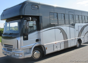 STUNNING Iveco Eurocargo Coach built by West Yorkshire horseboxes. Stalled for 3 with full luxury living