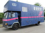 2001 DAF 45 150 Coach built by Marscom Horseboxes. Stalled for 3 with smart changing area.. Full tilt cab.. 150 BHP