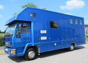 2000 MAN 8163 7.5 Ton Coach built by Highbury horseboxes. Stalled for 3 with smart living, sleeping for 4.. Mot MAY 2022