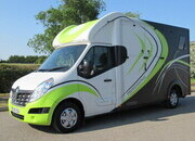 2019 Renault Master 3.5 ton Bloomfield Professional. Stalled for 2 rear facing.. Defra approved fan.. Only 8108 Miles from new! LIKE NEW