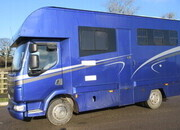 2006 DAF LF 7.5 Ton Coach built by Kinnear. 3 stall with smart living.. Air suspension.. Only 21 ft in length... VERY SMART