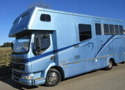 2002 DAF LF Coach built by Geoff Bains. Stalled for 2 with full luxury living with large bathroom.