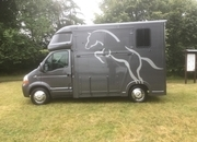 Ascot 2 Renault Master 3.5 ton, 35,000 miles ,Air Con, 08 Reg 1.3 ton payload with cert., £ 23,950,  Leather Upholstery  Sleeps 2, Air Con, New MOT