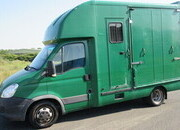 2008 Iveco Daily 3.5 Ton Coach built by George Smith. Stalled for 2 forward facing. Side ramp. Horsebox from new!