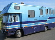 DAF 45 160 Coach built by Whittingham. Stalled for 3 with smart living. VERY SMART