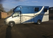 ASCOT 2, Iveco Daily 7 tonne ,3 ltr engine, Twin Wheel, 2013 reg, Full Service History Large Horse area and Weekender Body ,Separate Spacious Living  £28,950, Sleeps 4, Huge payload 3.5 ton