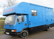 1996 DAF 45 130 Coach built by Wren. Stalled for 2/3 facing the rear with side ramp. Smart living at the front. Recent respray... VERY SMART