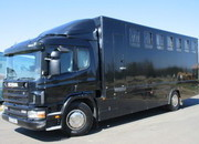 18 Ton ScanIa Professional Quighley Transport truck. Stalled for 6. VERY SMART