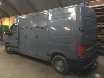 Vauxhall movano horsebox (new build )