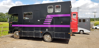 1990 Ford Iveco 7.5 tonne Horsebox