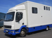 2005 DAF LF Professional Elite new conversion. Stalled for 3 with unfitted living area..
