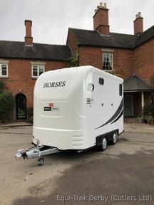 Equi-Trek Space-Treka L Excel 2019 Brand New Horse Trailer Px Welcome Unused NEW
