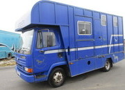 1995 DAF 45 130 Coach built by D H Horseboxes. Stalled for 3. Day living, external tack locker