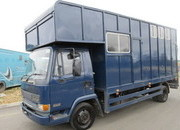 1999 DAF 150 Winterbourne body. Stalled for 3 with day living... Compact..