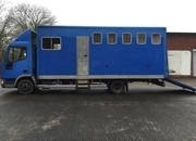 4 stall 7.5T 1999 T reg IVECO horse-box, low mileage 115k