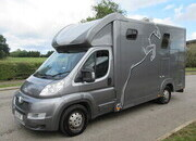 2013 Peugeot Boxer 4.5 Ton Bloomfield Legacy SLE. Stalled for 2 rear facing.. Smart changing area at the rear.. VERY SMART