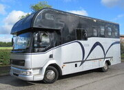 2003 DAF LF 7.5 Ton 180 Coach built by Moorhouse. Stalled for 3 with smart luxury living...