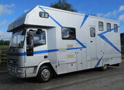 2003 Iveco Eurocargo 75E17 7.5 Ton Coach built by Solitaire. Stalled for 3 with smart luxury living,,No external tack locker intruding in the horse area