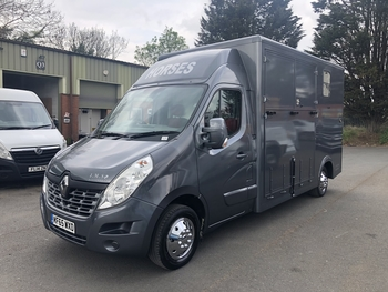 2015, RENAULT MASTER, 3.5T NEW BUILD, READY TO DRIVE AWAY @JMS HORSEBOXES