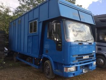 Iveco 7.5 Ton Horsebox Lorry 2001 (Y Reg)