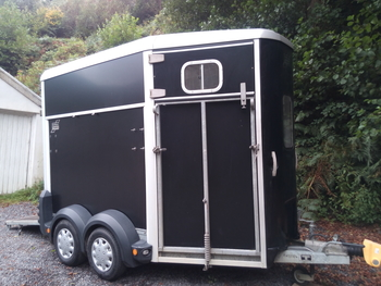 Ifor Williams HB506 trailer