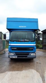 7.5 tonne Daf LF45 horsebox