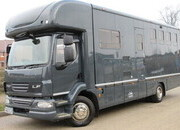 2012 16 Ton DAF LF Automatic 55 Coach built by Cooke. Stalled for 4/5 with smart luxury living. Sleeping for 4. Rear air suspension!