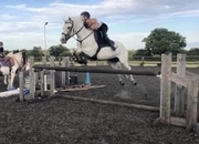 Super 14.2 hacking/jumping pony.