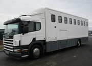 2004 Scania Professional Empire transport truck. Stalled for 8. Smart changing area