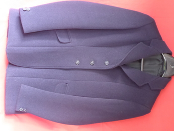 Ladies Navy Hunt Coat